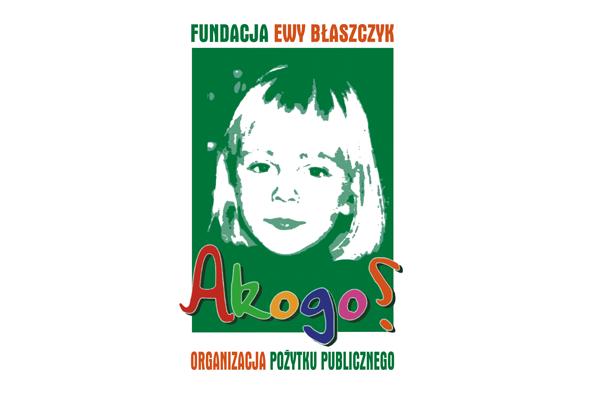 """Fundacja Ewy Błaszczyk """"Akogo?"""""""